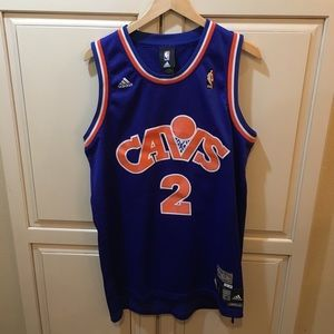 Adidas Hardwood Classics Throwback Cavs jersey m